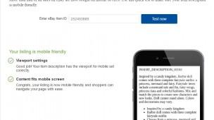 ebay mobile friendly