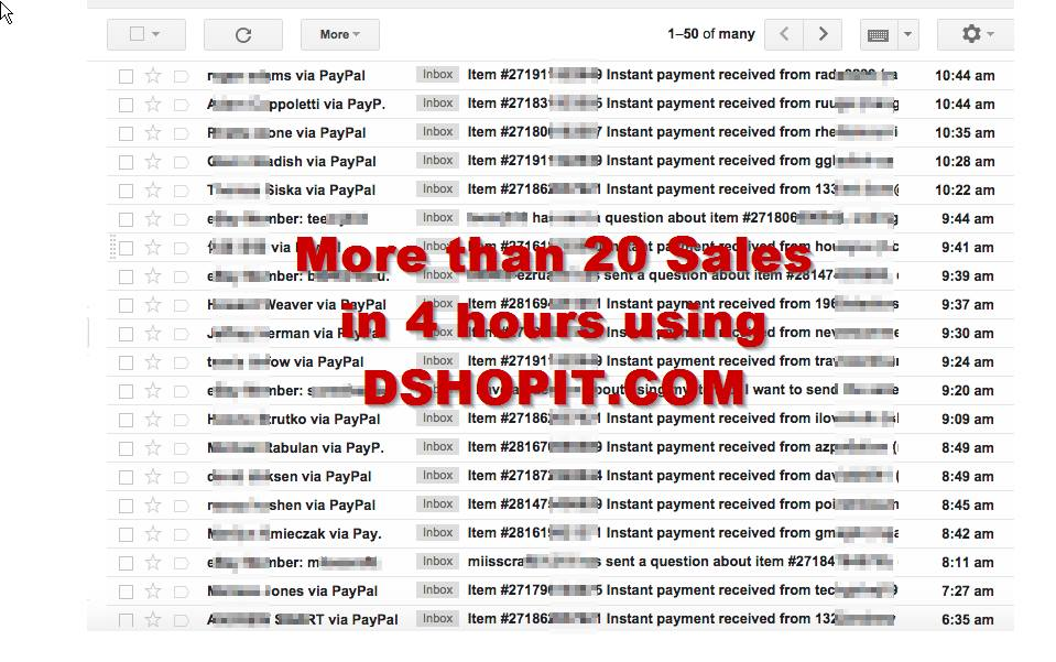 DShopit Fast Start – eBay DropShipping automation Software